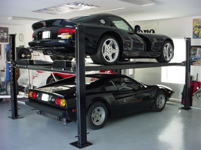 car lifts | Miller Garages